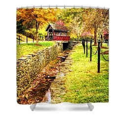 Whisky Creek Shower Curtain