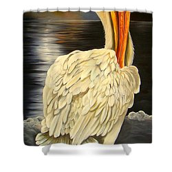 Shower Curtain featuring the painting Whisper And Shout by Phyllis Beiser