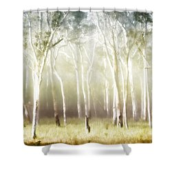 Whisper The Trees Shower Curtain by Holly Kempe