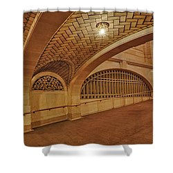 Whispering Gallery Shower Curtain by Susan Candelario