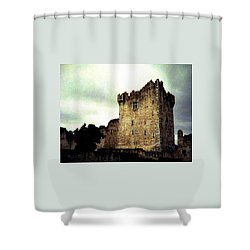 Whispers And Footsteps Shower Curtain by Angela Davies
