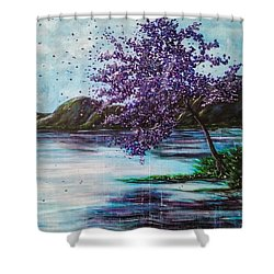 Whispers Of Wishes Shower Curtain