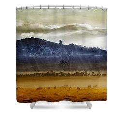 Whisps Of Velvet Rains... Shower Curtain