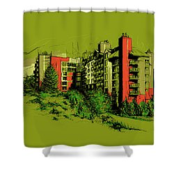 Whistler Art 003 Shower Curtain by Catf