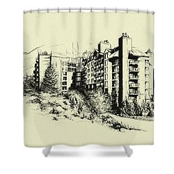 Whistler Art 007 Shower Curtain by Catf