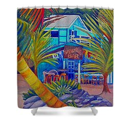 White Bay B.v.i. Shower Curtain