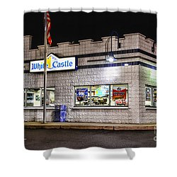 White Castle 2 Shower Curtain by Paul Ward