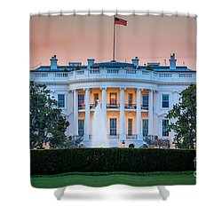 White House Shower Curtain by Inge Johnsson