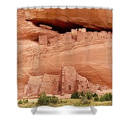 White House Ruins Canyon De Chelly Shower Curtain