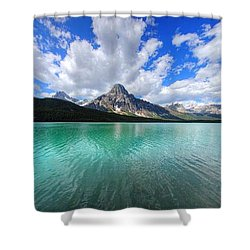 Shower Curtain featuring the photograph White Pyramid by David Andersen