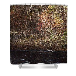 Shower Curtain featuring the photograph White River by Donna Smith