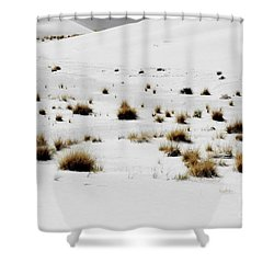 White Sands Life Shower Curtain