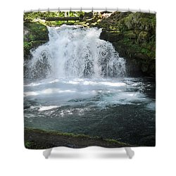 Whitehorse Falls Series 9 Shower Curtain