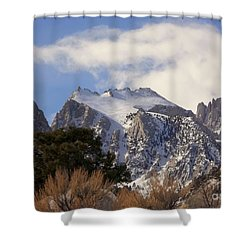 Whitney Portal - California Shower Curtain by Glenn McCarthy Art and Photography