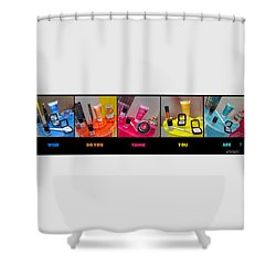 Shower Curtain featuring the photograph Who Do You Think You Are ? by Stwayne Keubrick