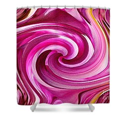 Who Dun It Twirls Shower Curtain