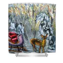Who Me?? Shower Curtain
