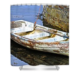 Who Needs Paint Shower Curtain by Charlie and Norma Brock