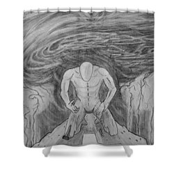 Whom Shall I Fear Part 1 Shower Curtain by Justin Moore