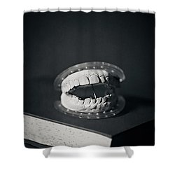 Shower Curtain featuring the photograph Whose Teeth Are These? by Trish Mistric