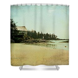 Shower Curtain featuring the photograph Wickaninnish by Kathy Bassett