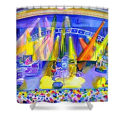Widespread Panic Peabody Opera House Shower Curtain