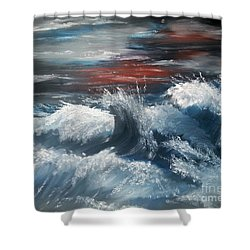 Wiederbelebung - A Time Of Change Shower Curtain