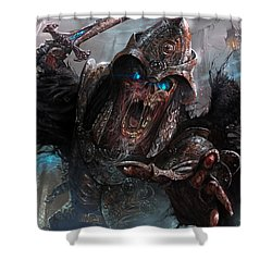 Wight Of Precinct Six Shower Curtain