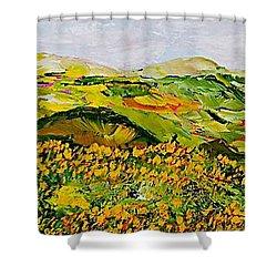 Wild And Robust Shower Curtain by Allan P Friedlander