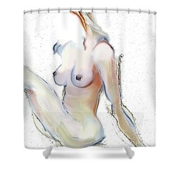 Wild - Female Nude Shower Curtain