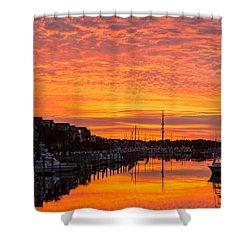 Wild Dunes Sunset Isle Of Palms Shower Curtain