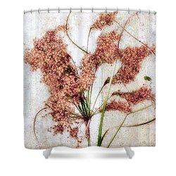 Wild Indian Rice In Autumn #2 Shower Curtain