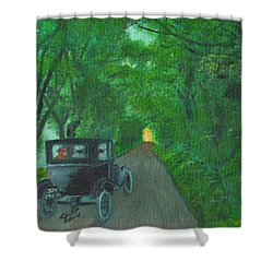 Wild Irish Roads Shower Curtain