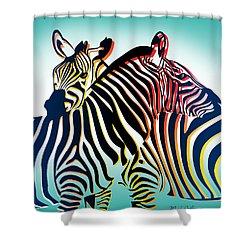 Wild Life  Shower Curtain by Mark Ashkenazi