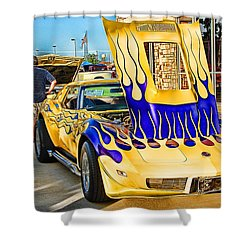 Shower Curtain featuring the photograph Wild One by Dyle   Warren