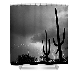 Shower Curtain featuring the photograph Wild Places by J L Woody Wooden