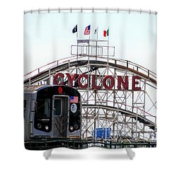 Shower Curtain featuring the photograph Wild Rides by Ed Weidman