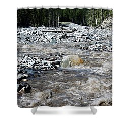 Wild River Shower Curtain