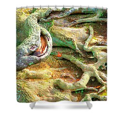 Wild Roots By Christopher Shellhammer Shower Curtain