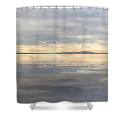 Shower Curtain featuring the photograph Wildcat Cove Along Chuckanut Drive In Washington by JPLDesigns