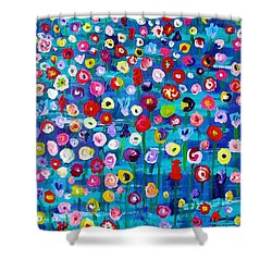 Wildflower Fiesta Shower Curtain