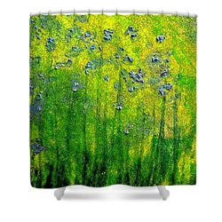 Wildflower Impression By Jrr Shower Curtain by First Star Art