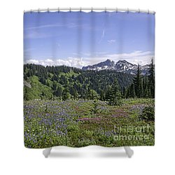 Wildflower Vista Shower Curtain