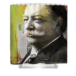 William Howard Taft Shower Curtain by Corporate Art Task Force
