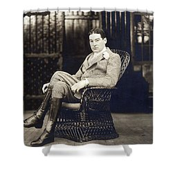William K. Vanderbilt Shower Curtain by Underwood Archives