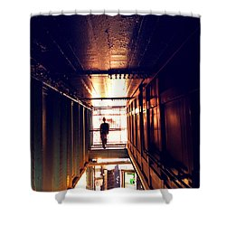 Williamsburg - Brooklyn - Hewes Street Overpass Shower Curtain by Vivienne Gucwa