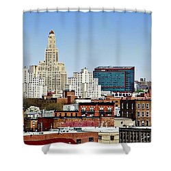Williamsburg Savings Bank In Downtown Brooklyn Ny Shower Curtain