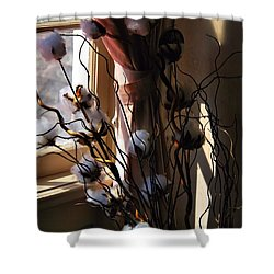 Willow And Cotton Shower Curtain
