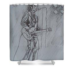 Willy Deville - Steady Drivin' Man Shower Curtain