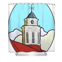 Wilson Hall Cupola - Jmu Shower Curtain